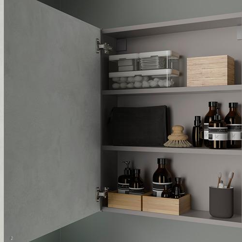 ENHET - 雙門吊櫃連2層板, 灰色/仿混凝土 | IKEA 香港及澳門 - PE786282_S4