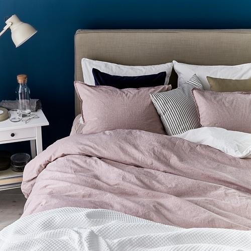 BERGPALM - 被套枕袋套裝, 粉紅色/條紋, 150x200/50x80 cm  | IKEA 香港及澳門 - PE731560_S4