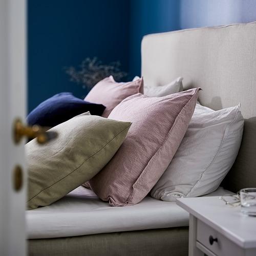 BERGPALM - 被套枕袋套裝, 粉紅色/條紋, 150x200/50x80 cm  | IKEA 香港及澳門 - PE731561_S4