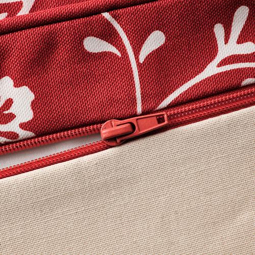 EKTORP - 腳凳, Virestad 紅色/白色 | IKEA 香港及澳門 - PE774454_S4