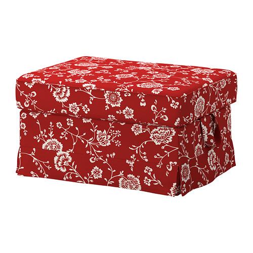 EKTORP - 腳凳, Virestad 紅色/白色 | IKEA 香港及澳門 - PE774456_S4
