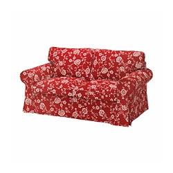 EKTORP - 兩座位梳化, Virestad 紅色/白色 | IKEA 香港及澳門 - PE774465_S3