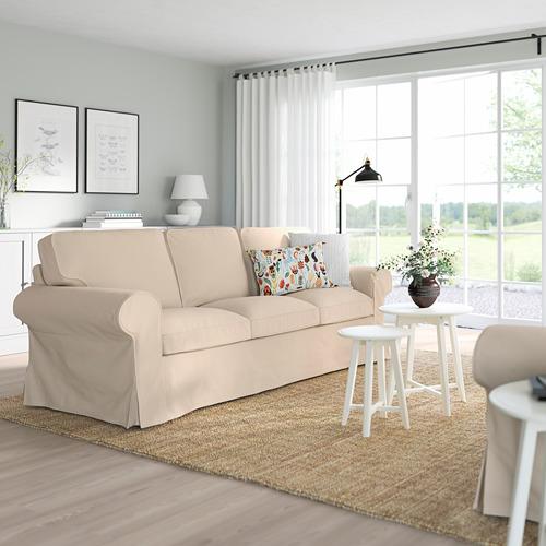 EKTORP - 三座位梳化, Hallarp 米黃色 | IKEA 香港及澳門 - PE774490_S4