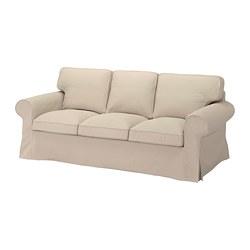 EKTORP - 3-seat sofa, Hallarp beige | IKEA Hong Kong and Macau - PE774497_S3