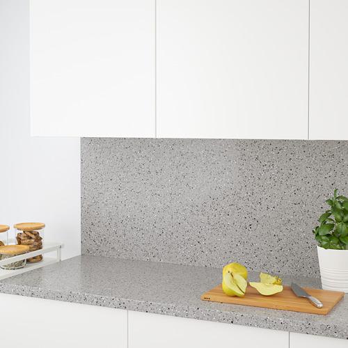 KLINGSTA - custom made wall panel, dark grey stone effect/acrylic | IKEA Hong Kong and Macau - PE731667_S4