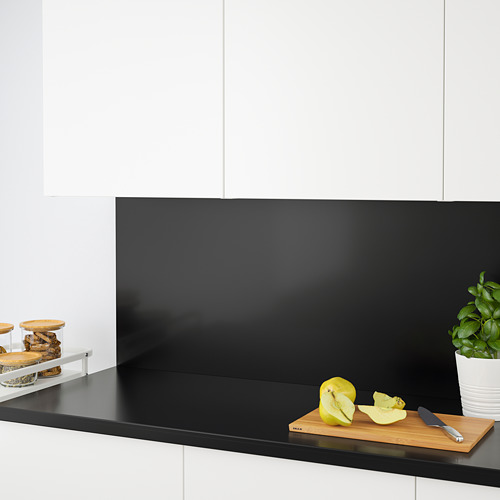 KLINGSTA - custom made wall panel, black acrylic | IKEA Hong Kong and Macau - PE731669_S4