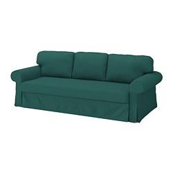 VRETSTORP - 3-seat sofa-bed, Totebo dark turquoise | IKEA Hong Kong and Macau - PE774604_S3