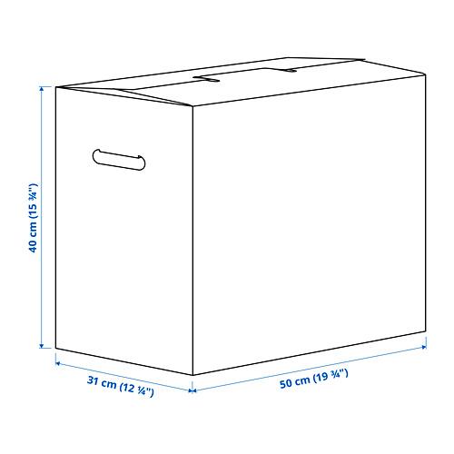DUNDERGUBBE - 搬運箱, 褐色 | IKEA 香港及澳門 - PE786471_S4