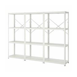 BROR - 貯物組合, 254x40x190 cm, 白色   IKEA 香港及澳門 - PE786529_S3