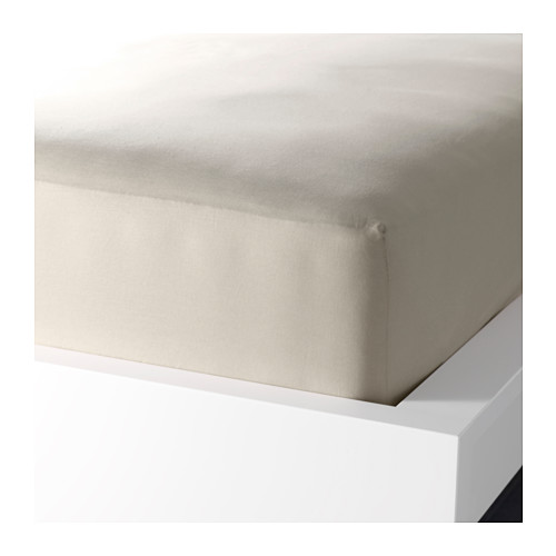DVALA - 標準雙人床笠, 米黃色 | IKEA 香港及澳門 - PE576041_S4