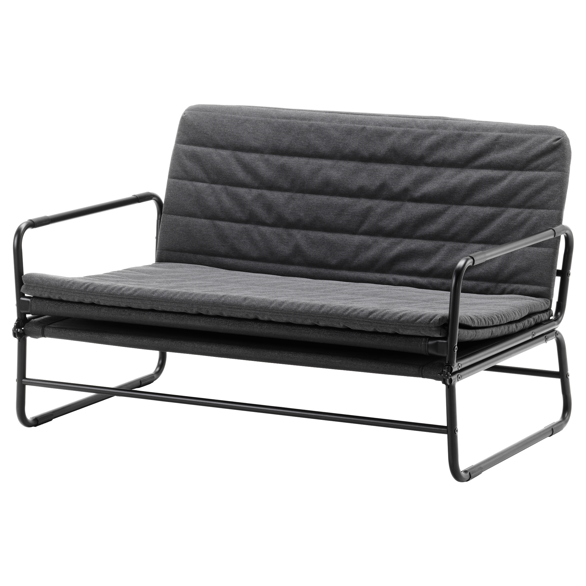 - HAMMARN - Sofa-bed, Knisa Dark Grey/black IKEA Hong Kong