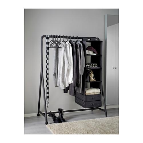 TURBO - 衣帽架, 室內/戶外用/黑色   IKEA 香港及澳門 - PE576087_S4