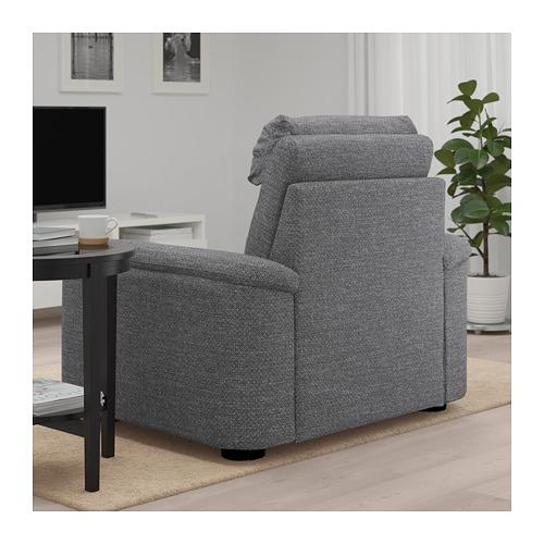 LIDHULT - armchair, Lejde grey/black   IKEA Hong Kong and Macau - PE688932_S4