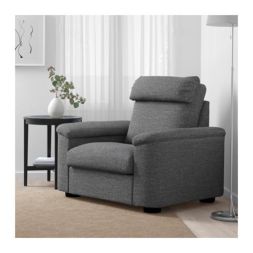 LIDHULT - armchair, Lejde grey/black   IKEA Hong Kong and Macau - PE688935_S4