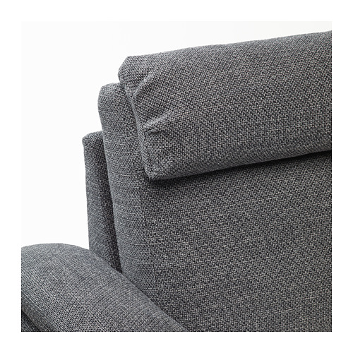 LIDHULT - corner sofa, 5-seat, with open end/Lejde grey/black | IKEA Hong Kong and Macau - PE688934_S4