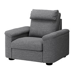 LIDHULT - armchair, Lejde grey/black | IKEA Hong Kong and Macau - PE688933_S3