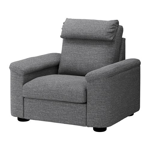 LIDHULT - armchair, Lejde grey/black   IKEA Hong Kong and Macau - PE688933_S4