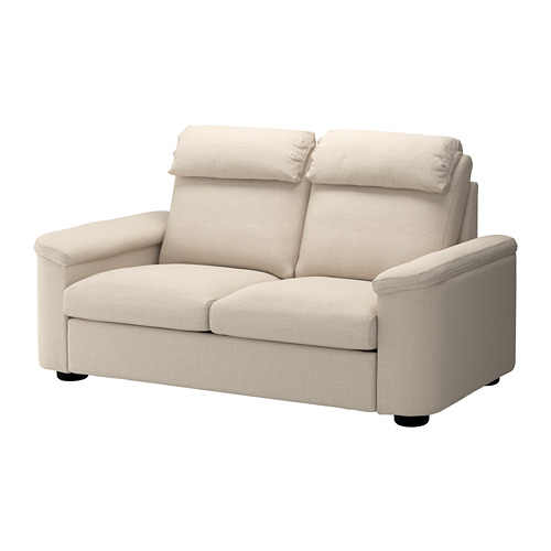 LIDHULT - 2-seat sofa-bed, Gassebol light beige | IKEA Hong Kong and Macau - PE688945_S4