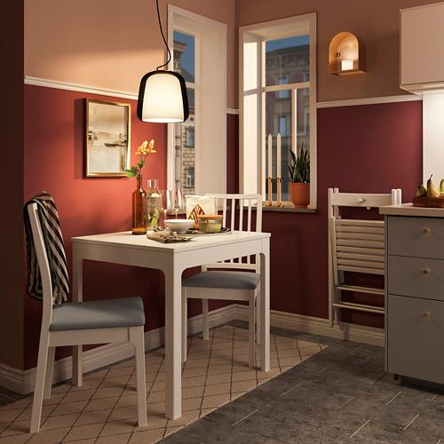 EKEDALEN - 椅子, 白色/Orrsta 淺灰色 | IKEA 香港及澳門 - PE731888_S4