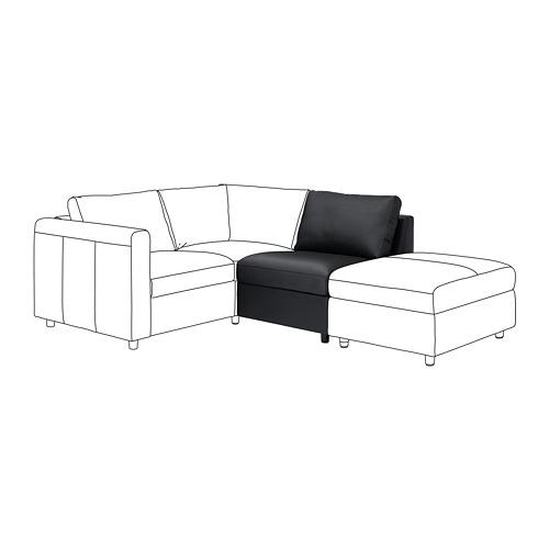 VIMLE - 1-seat section, Grann/Bomstad black | IKEA Hong Kong and Macau - PE774692_S4