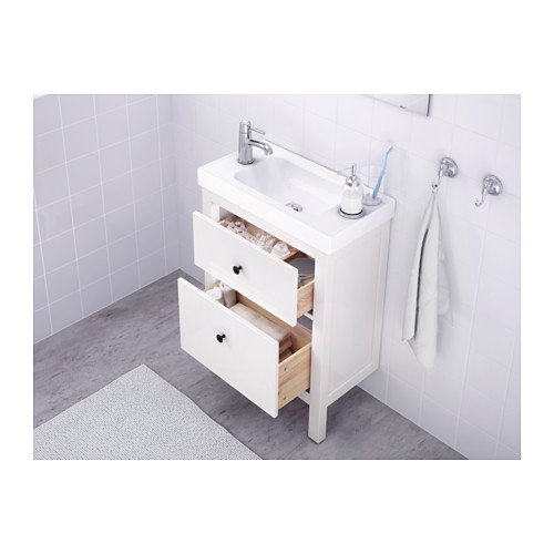 HEMNES 雙抽屜洗手盆櫃