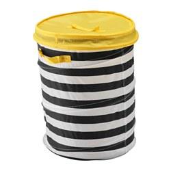 FLYTTBAR - basket with lid, yellow | IKEA Hong Kong and Macau - PE576189_S3