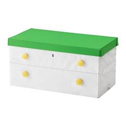 FLYTTBAR - 連蓋箱, 綠色/白色 | IKEA 香港及澳門 - PE576191_S3