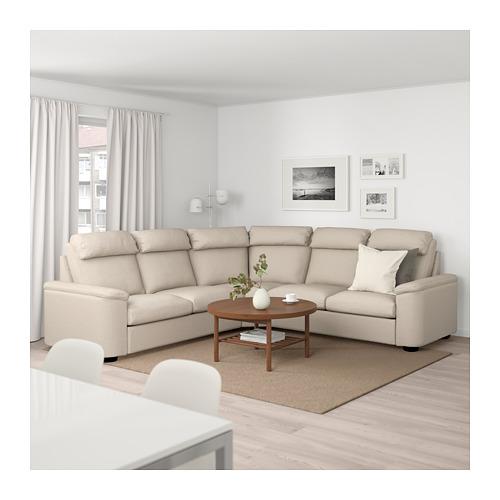 LIDHULT - corner sofa, 5-seat, Gassebol light beige | IKEA Hong Kong and Macau - PE688994_S4