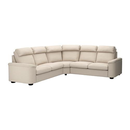 LIDHULT - corner sofa, 5-seat, Gassebol light beige | IKEA Hong Kong and Macau - PE688993_S4
