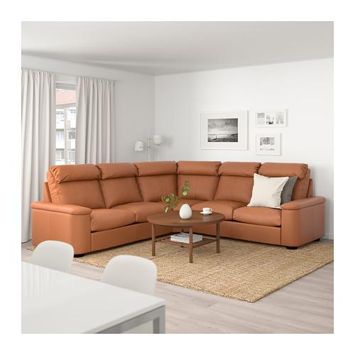 LIDHULT - corner sofa, 5-seat, Grann/Bomstad golden-brown | IKEA Hong Kong and Macau - PE689000_S4