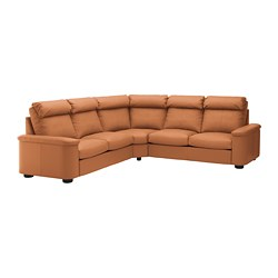 LIDHULT - 5座位角位梳化床, Grann/Bomstad 金啡色 | IKEA 香港及澳門 - PE688999_S3