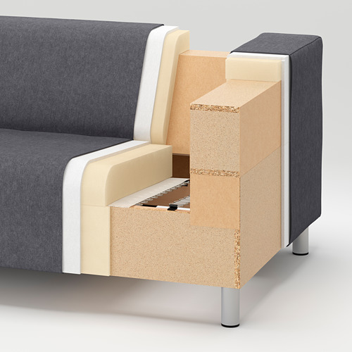 KLIPPAN - 2-seat sofa, Rotebro multicolour | IKEA Hong Kong and Macau - PE732044_S4