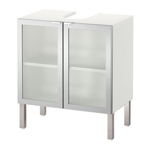 LILLÅNGEN - washbasin base cabinet with 2 door, aluminium | IKEA Hong Kong and Macau - PE576288_S4