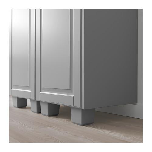 BODBYN - 櫃腳, 灰色   IKEA 香港及澳門 - PE689137_S4