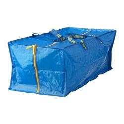 FRAKTA - 手拉車用購物袋, 藍色 | IKEA 香港及澳門 - PE230442_S3