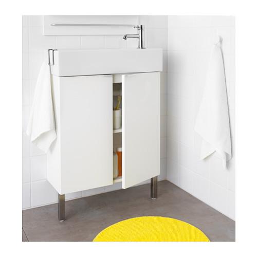 LILLÅNGEN - 雙門洗手盆櫃, 白色 | IKEA 香港及澳門 - PE576333_S4