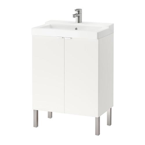 LILLÅNGEN 雙門洗手盆櫃