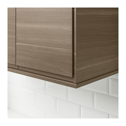 VOXTORP - rounded deco strip/moulding, walnut effect | IKEA Hong Kong and Macau - PE689146_S4