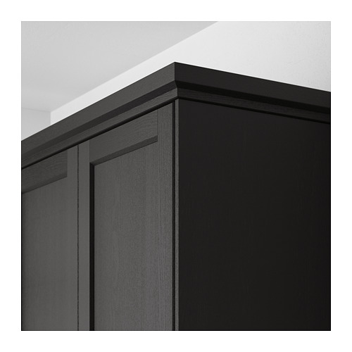LERHYTTAN - deco strip, contoured edge, black stained | IKEA Hong Kong and Macau - PE689176_S4