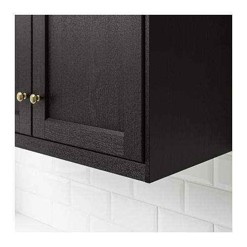 LERHYTTAN - deco strip, contoured edge, black stained | IKEA Hong Kong and Macau - PE689177_S4
