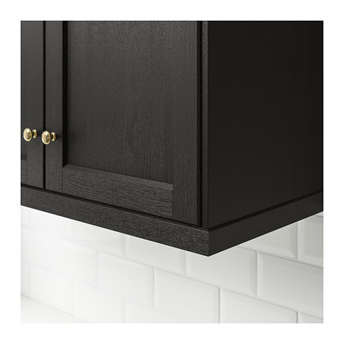 LERHYTTAN - deco strip, contoured edge, black stained | IKEA Hong Kong and Macau - PE689178_S4