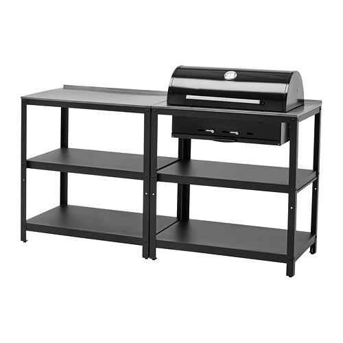 GRILLSKÄR - 廚用燒烤炭爐,戶外用, 不銹鋼 | IKEA 香港及澳門 - PE786646_S4