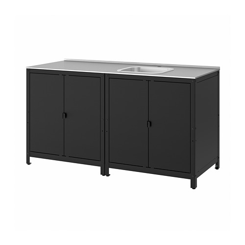 GRILLSKÄR - kitchen sink unit/cabinet, outdoor, stainless steel | IKEA Hong Kong and Macau - PE786647_S4