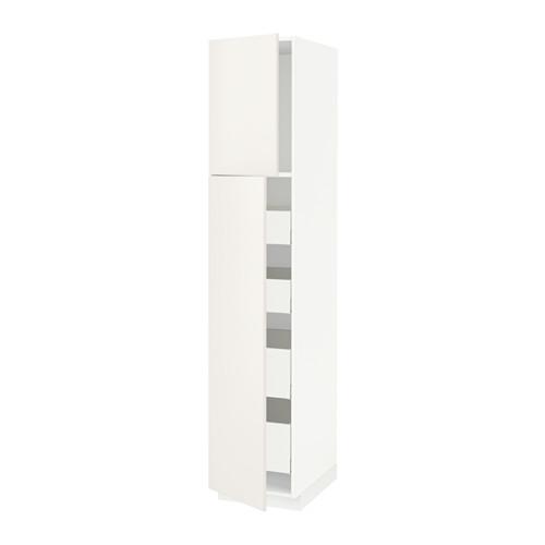 METOD/MAXIMERA - hi cab w 2 doors/4 drawers, white Maximera/Veddinge white | IKEA Hong Kong and Macau - PE515467_S4
