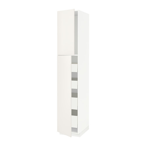 METOD/MAXIMERA - hi cab w 2 doors/4 drawers, white Maximera/Veddinge white | IKEA Hong Kong and Macau - PE515469_S4