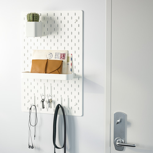 SKÅDIS - 洞洞板套裝, 白色 | IKEA 香港及澳門 - PE732129_S4