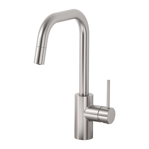 ÄLMAREN - kitchen mixer tap w pull-out spout, stainless steel colour | IKEA Hong Kong and Macau - PE641761_S4