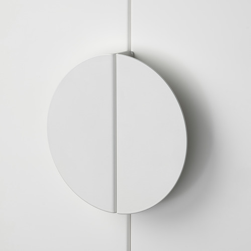 BEGRIPA - handle, white/half-round | IKEA Hong Kong and Macau - PE774854_S4