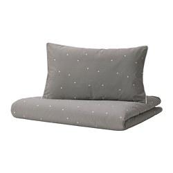 LENAST - 嬰兒被套枕袋套裝, 波點 | IKEA 香港及澳門 - PE786718_S3