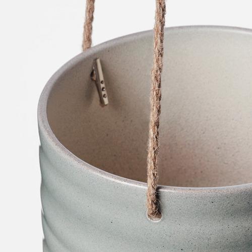 KAPKRUSBÄR - 掛式花盆架, 灰綠色 | IKEA 香港及澳門 - PE789488_S4
